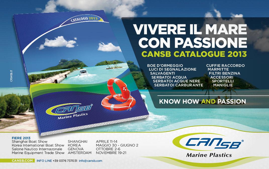 CAN-SB - advertising - inserzione su riviste specializzate