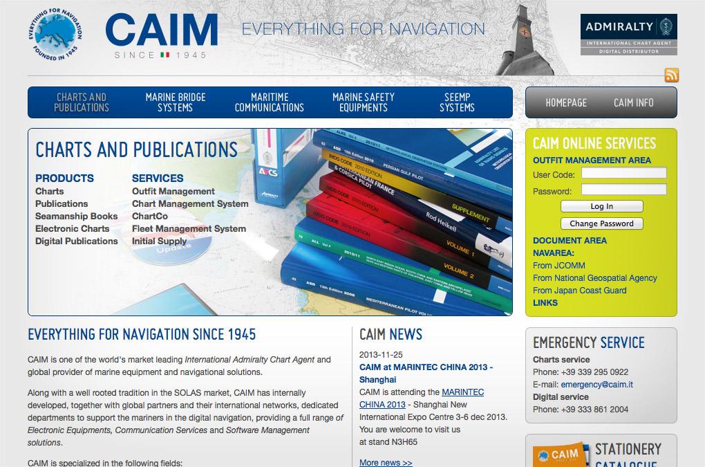 CAIM homepage