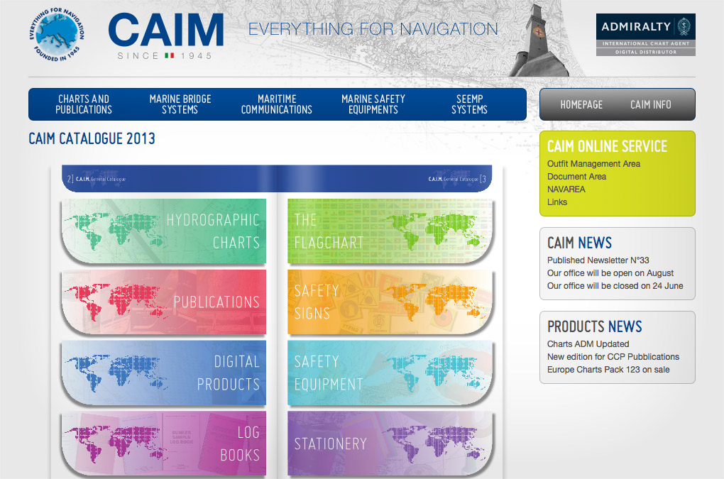 CAIM online catalogue