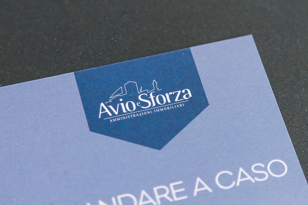 Avio e Sforza - per la casa non andare a caso - cartolina