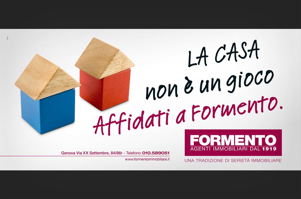 La casa non è un gioco. Affidati a Formento.