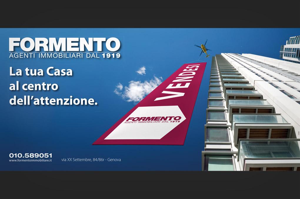 La tua casa al centro - Formento Immobiliare - Manifesto 6x3