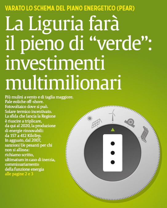 Il Secolo XIX più - copertine - investimenti economia verde