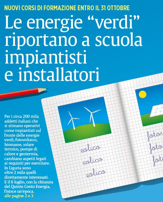 Il Secolo XIX più - copertine - energie rinnovabili