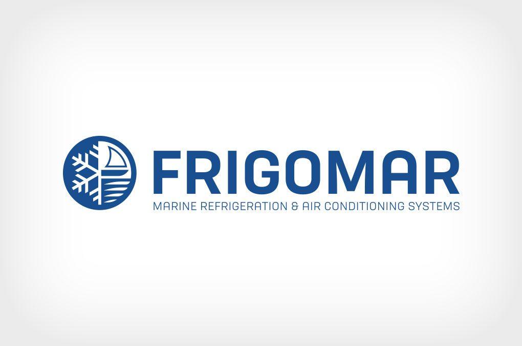 Restyling logo FRIGOMAR con payoff